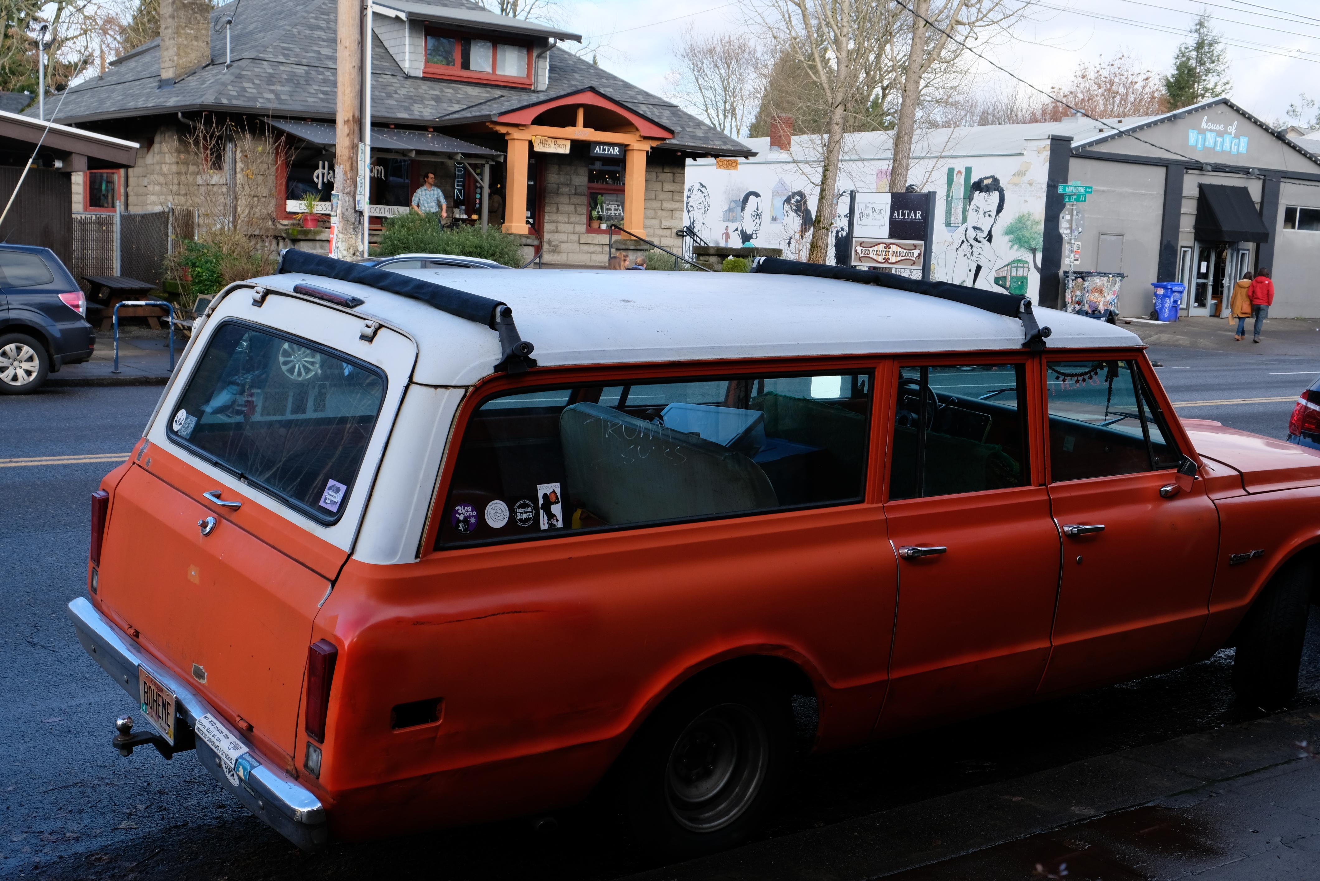 Portland Oregon, Hawthorne St.