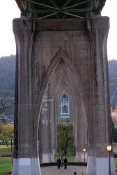 Portland Oregon, St. John's Bridge