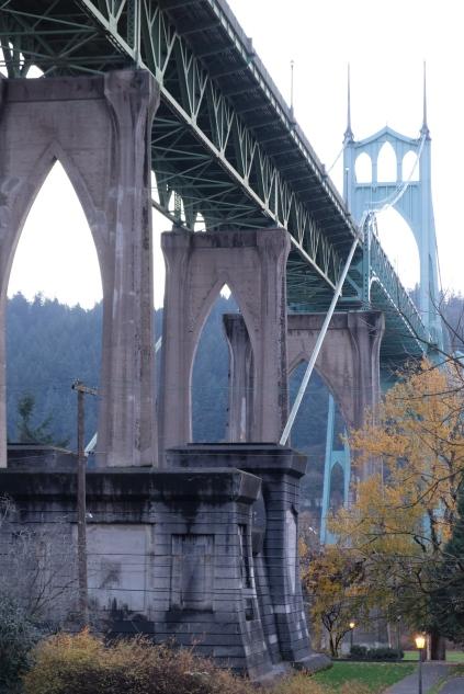 Portland Oregon, St John's Bridge