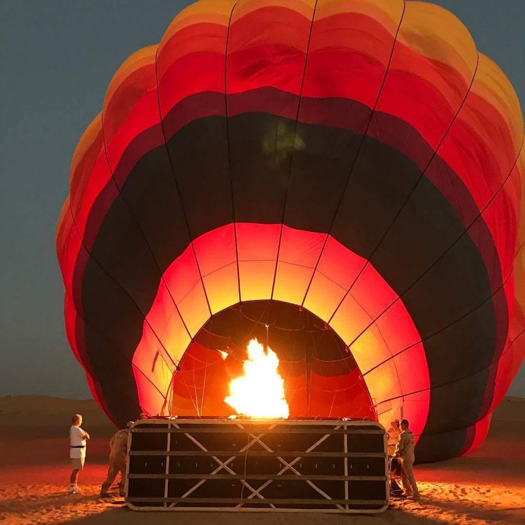 Mi vuelo en Globo - Dubai