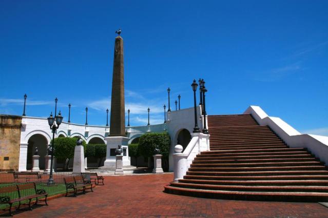 Panama casco viejo - Plaza Francia