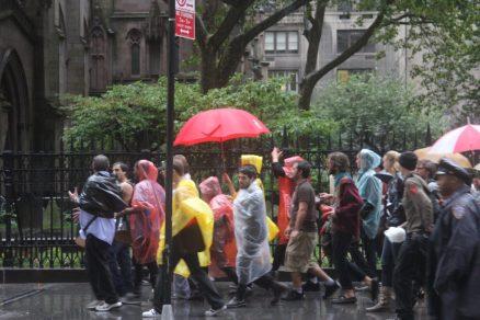 #viajerayo - lluvia torrencial en NYC