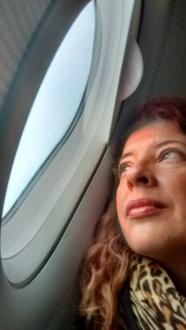 #viajerayo en vuelo
