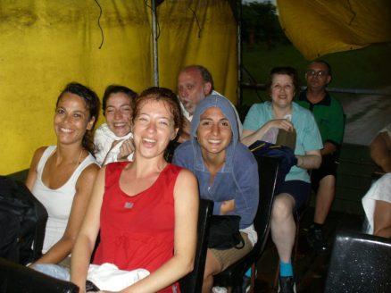 #viajerayo - lluvia torrencial en Cuba