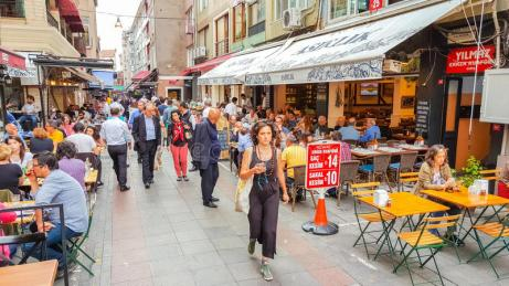 Calles comerciales de Istambul