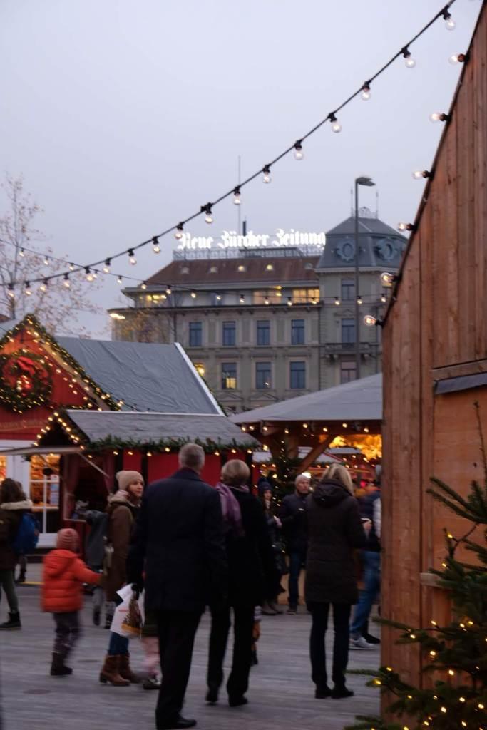 Suiza - Zurich mercadillo navideño
