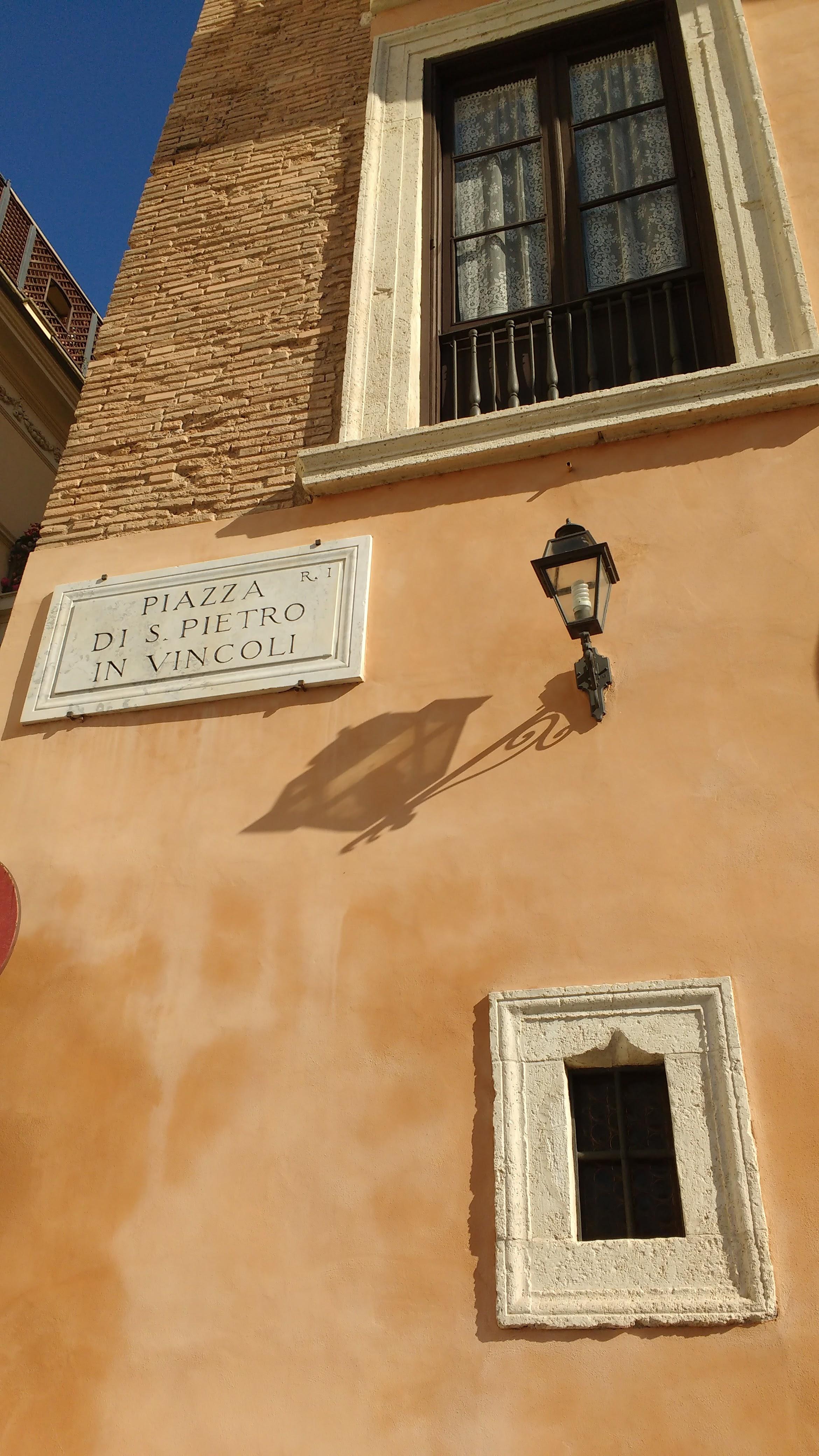 San Pietro in Vincoli - Moises de Miguel Angel